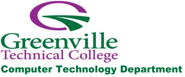 Greenville Technical College | Computer Technology Department